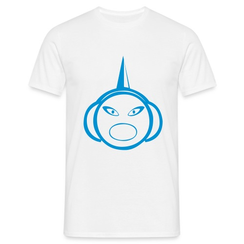 DJ Spike - DJ T-Shirt - Light Blue Print - Men's T-Shirt