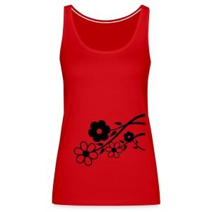 Flowers - Women's Premium Tank Top