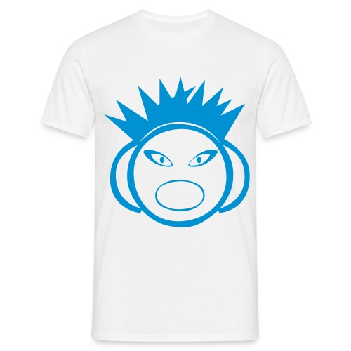 DJ Spikey - DJ T-Shirt - Blue Print - Men's T-Shirt
