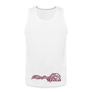 men's syn2cat muscle shirt - Men's Premium Tank Top
