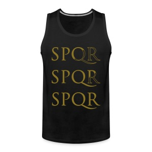 Camiseta Sin mangas SPQR - Tank top premium hombre