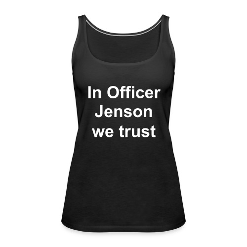 Officer Jenson Vest Top - Women's Premium Tank Top