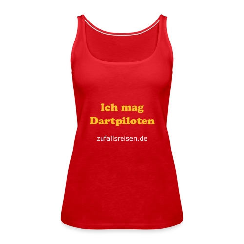 Dartpilots-Top - Frauen Premium Tank Top