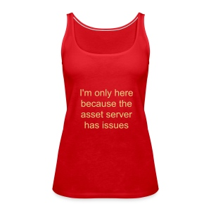 Asset server issues - Women's Premium Tank Top