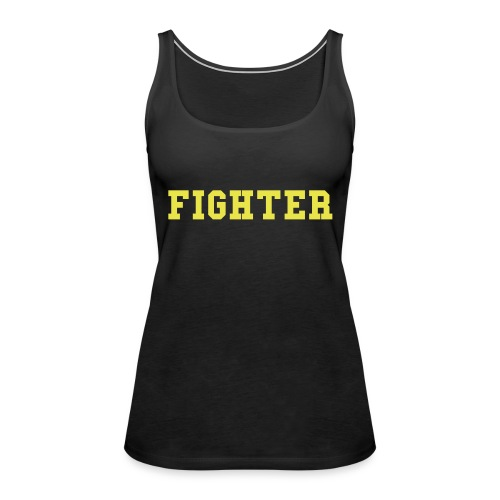 Fighter  black - Frauen Premium Tank Top