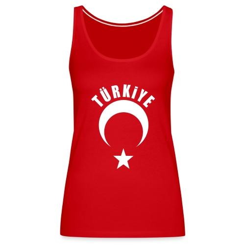 Shirt Bayan Kolsuy Kırmızı - Frauen Premium Tank Top
