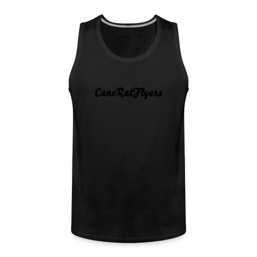 CaneRat Male members Tee-Shirt (Plain) - Men's Premium Tank Top