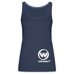 My Wannasurf - Women's Premium Tank Top