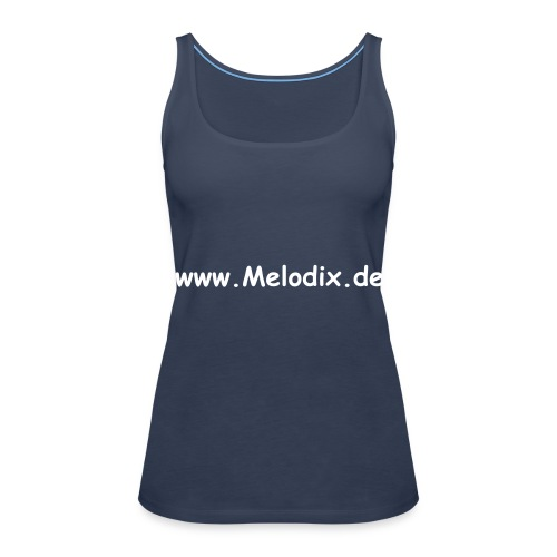 Melodix Damen Top - Frauen Premium Tank Top