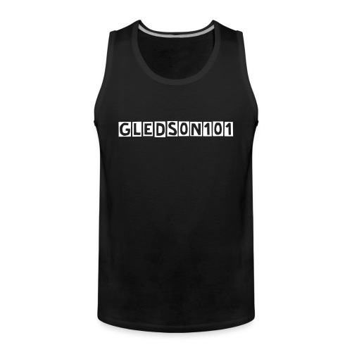 Tank Top (Black) - Men's Premium Tank Top