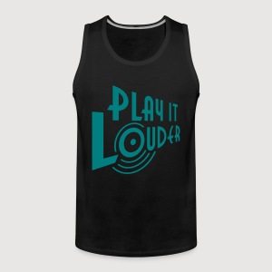 PLAY IT LOUDER | Muskelshirt - Männer Premium Tank Top