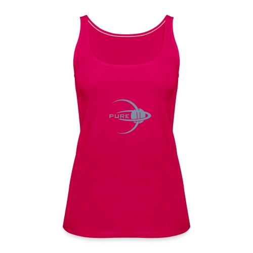 PURE. Spaghetti Bling - Women's Premium Tank Top