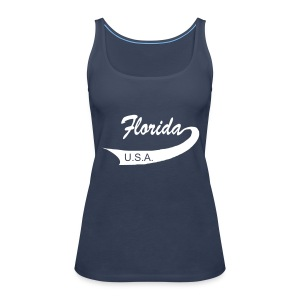 Spaghetti-Top FLORIDA USA - Frauen Premium Tank Top