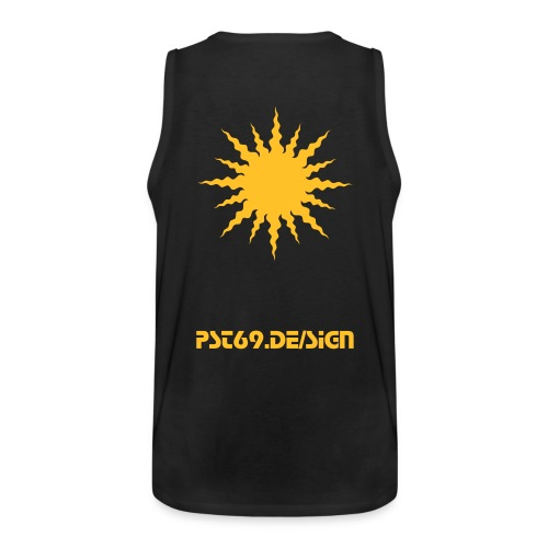 pst69.de/sign Muscle Star - Männer Premium Tank Top