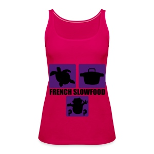 French Slowfood - Frauen Premium Tank Top