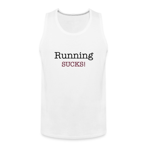 Men's Training Tank Top - Men's Premium Tank Top