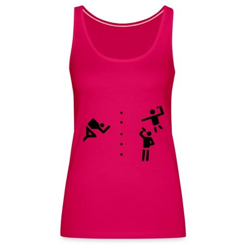Sexy Flunkyball - Shirt / Top pink - Frauen Premium Tank Top