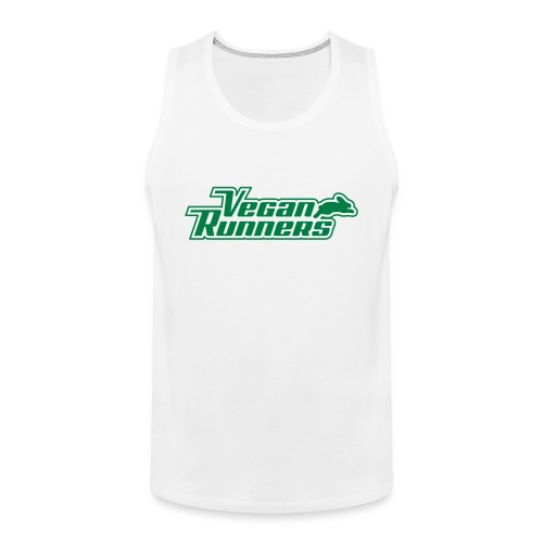 Vegan Runners Tank Top - Men's Premium Tank Top