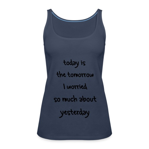 worries8 - Premium singlet for kvinner