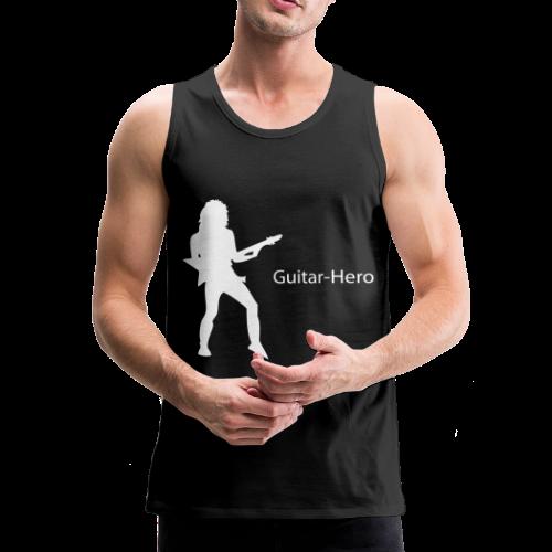 Guitar Hero Muscle Shirt - Mannen Premium tank top