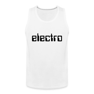 ELECTRO TANK-TOP  MEN - Männer Premium Tank Top