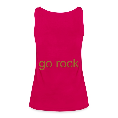 rock on - Women's Premium Tank Top