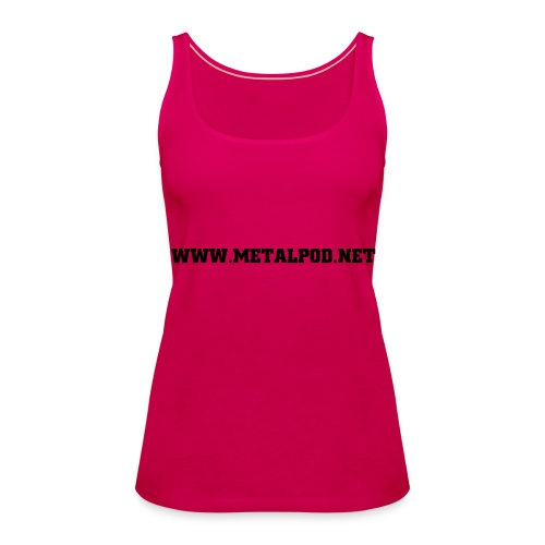 VEST GIRLS PINK - Women's Premium Tank Top