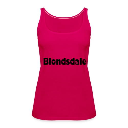 Blond? - Frauen Premium Tank Top