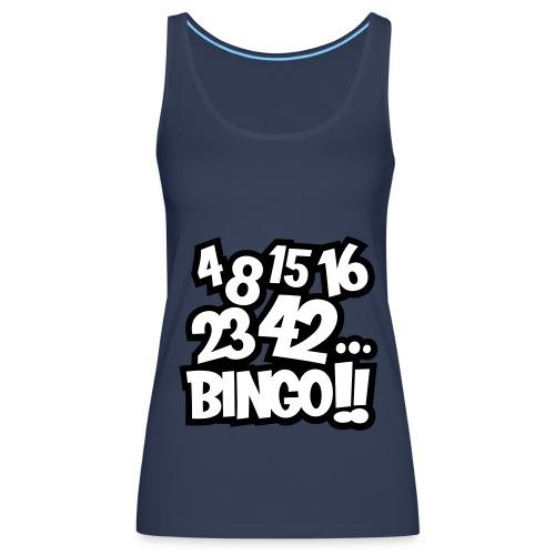 4 8 15 16 23 42... Bingo!! - Camiseta de tirantes premium mujer