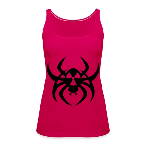 Radioactive spider - Black print - Women's Premium Tank Top