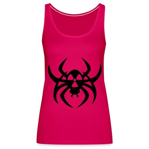 Radioactive spider - Black print - Women's Premium Tank Top