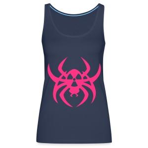 Radioactive spider - Neonpink - Women's Premium Tank Top