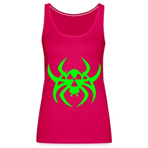 Radioactive spider - Neongreen - Women's Premium Tank Top