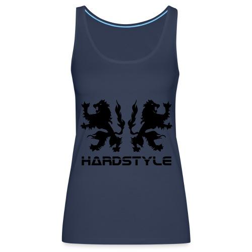 Hardstyle Lions - Black print - Women's Premium Tank Top