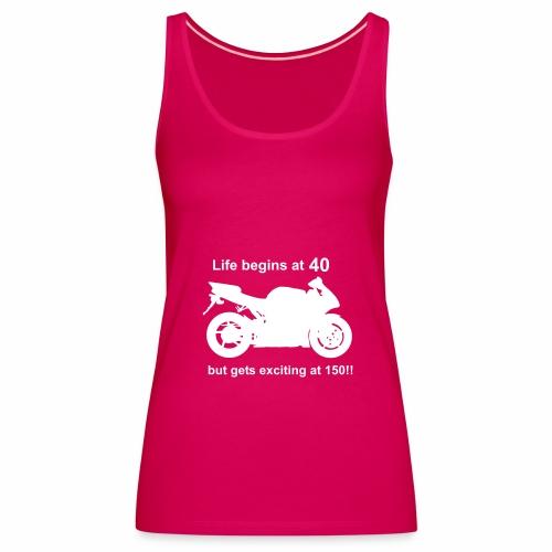 Life begins at 40 - Women's Premium Tank Top