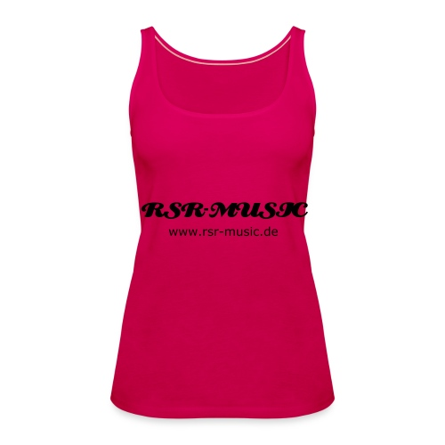 Top Pink (w) - Frauen Premium Tank Top