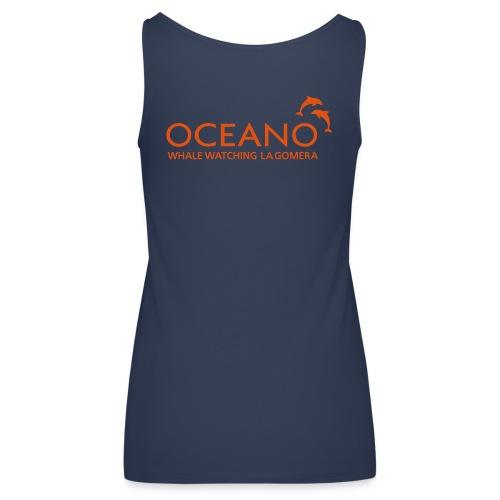 OCEANO Frauen Spaghetti Top hellblau - Frauen Premium Tank Top