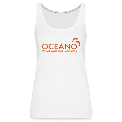 OCEANO Tank Top weiß - Frauen Premium Tank Top