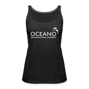 OCEANO Tank Top schwarz - Frauen Premium Tank Top