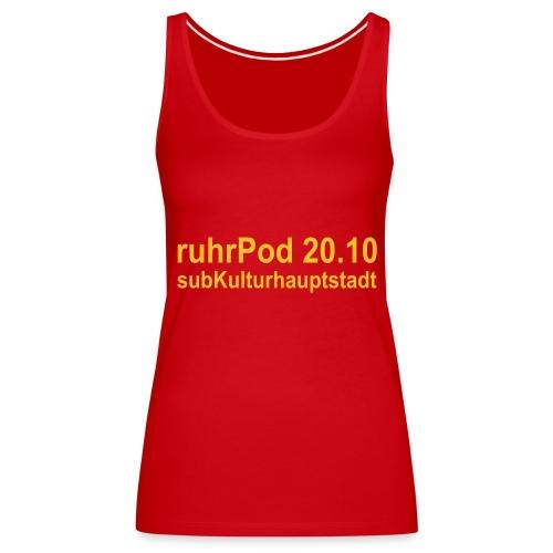 ruhrPod 20.10 - Frauen Premium Tank Top