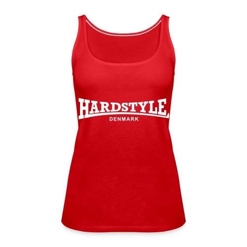 Hardstyle Denmark - White - Women's Premium Tank Top