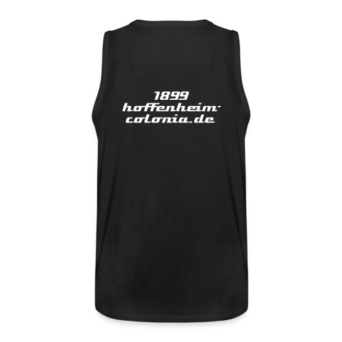 Men´s Fanclub Muscle Shirt black/white - Männer Premium Tank Top