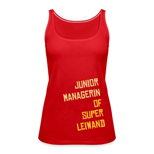 junior managerin tanktop - Frauen Premium Tank Top