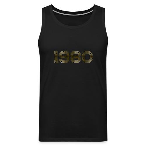 1980 (Gold/Silber) - Männer Premium Tank Top