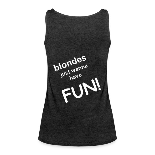 blondes just wanna have fun