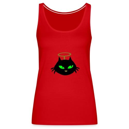 Cat angel :) - Women's Premium Tank Top