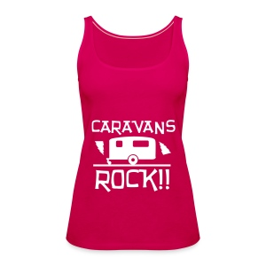 Caravans Rock - Women's Premium Tank Top