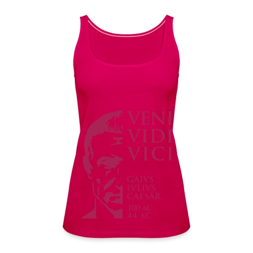 Camiseta Mujer Tank Top Cesar Veni Vidi Vici - Camiseta de tirantes premium mujer