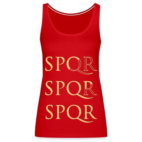 Camiseta Top Spaghetti SPQR - Camiseta de tirantes premium mujer