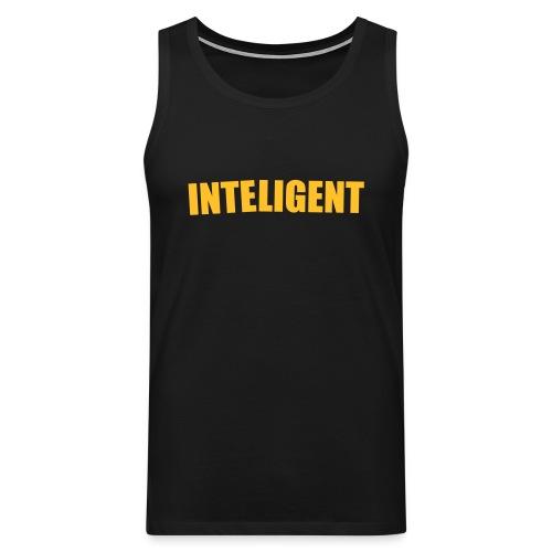 Smart ärmlös T-shirt - Premiumtanktopp herr